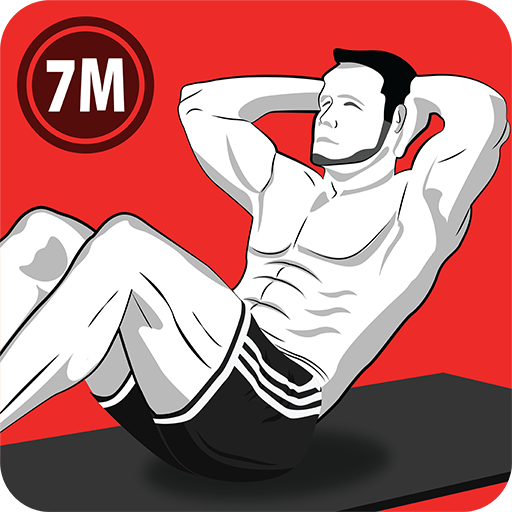 7 Minute Abs Workout – Home Workout for Men