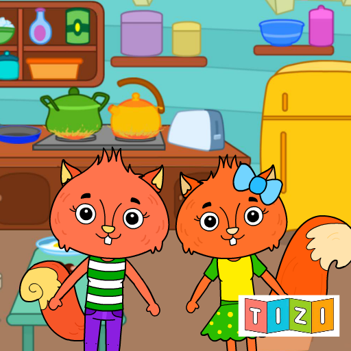 Animal Town – My Squirrel Home for Kids & Toddlers