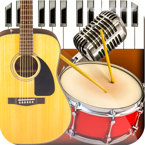 Band Live Rock – Drum, Piano, Bass, Guitar, voice
