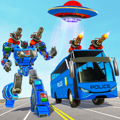 Bus Robot Car Transform War– Spaceship Robot game