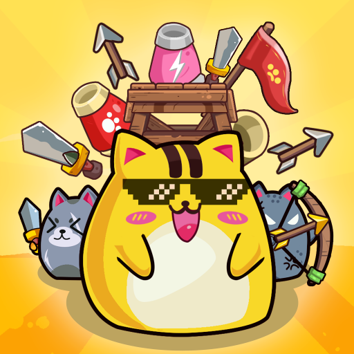 Cat'n'Robot: Idle Defense – Cute Castle TD PVP