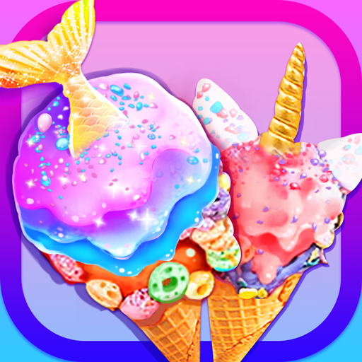 Cooking Games – Unicorn Chef Mermaid for Girls