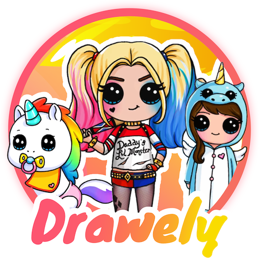 Drawely – How To Draw Cute Girls and Coloring Book