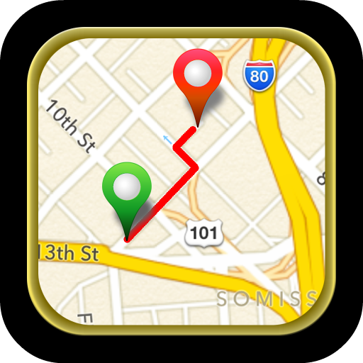 Driving Route Finder™ – Find GPS Location & Routes