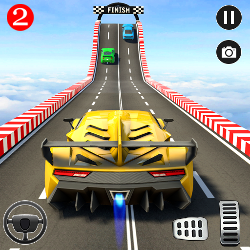 Extreme Car Driving: Impossible Stunt Car Games 3D