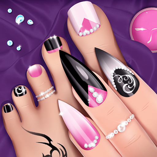 Fashion Nail Salon Game: Manicure and Pedicure App