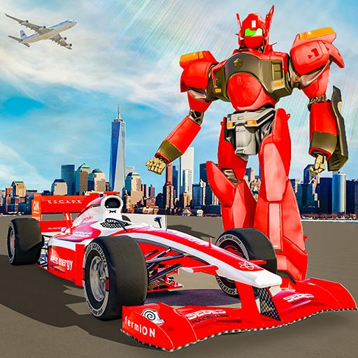 Formula Car Robot City Battle 2021