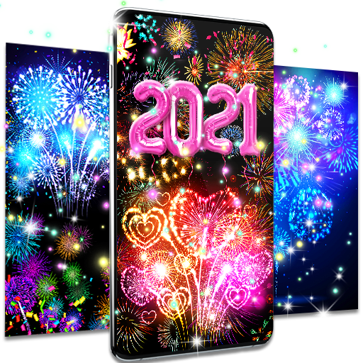 Happy new year 2021 live wallpaper