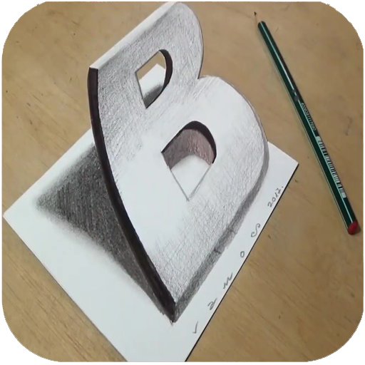 How to Draw 3D – 3D shapes drawing
