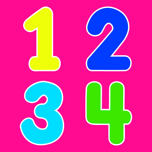 Learning numbers for kids, count 123, math games!