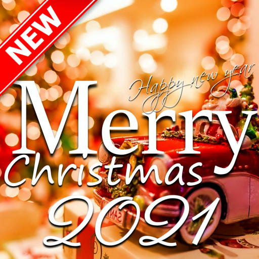 Merry Christmas Greeting and Happy New Year 2021