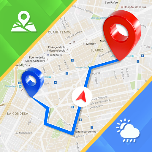 Offline GPS – Maps Navigation & Directions Free
