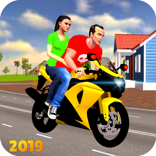 Offroad Bike Taxi Driver: Motorcycle Cab Rider