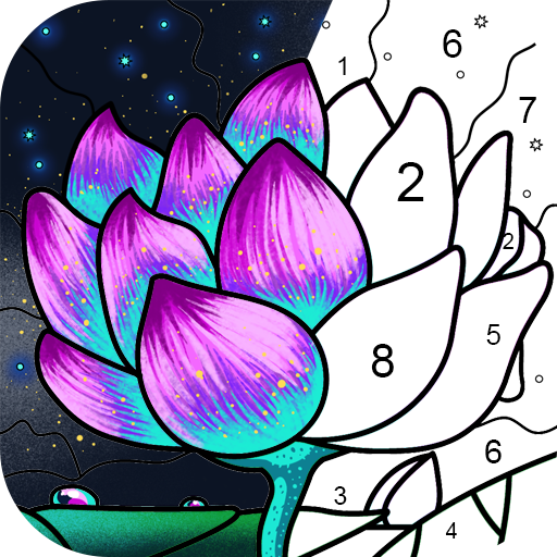 Paint By Number – Coloring Book & Color by Number