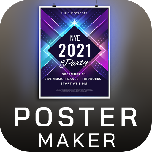 Poster Maker Flyer Maker 2021 free graphic Design