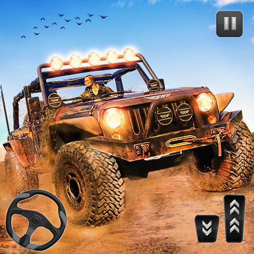 Spin Tyres Offroad Truck Driving: Tow Truck Games