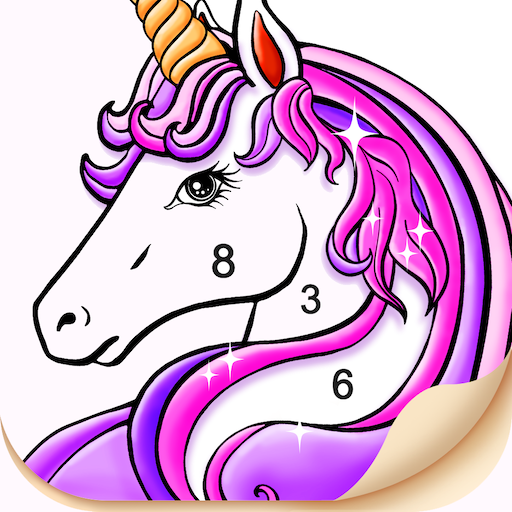 Tap Color – Color by number. Coloring Game