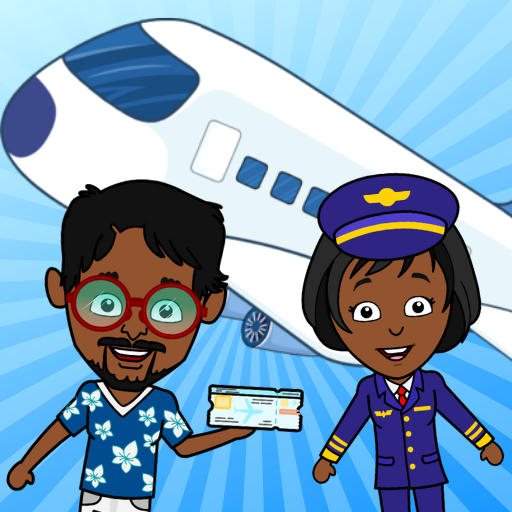 Tizi Town Airport: My Airplane Games for Kids Free