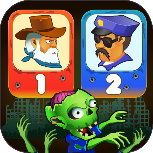 Two guys & Zombies (two-player game)