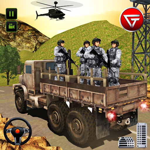 US Army Truck Driving 2021: Real Military Truck 3D