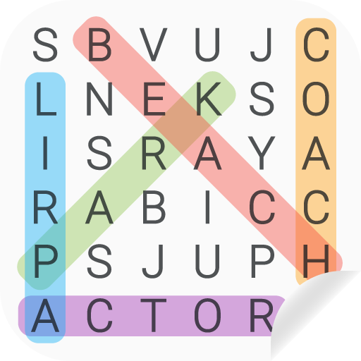 Word search puzzles game