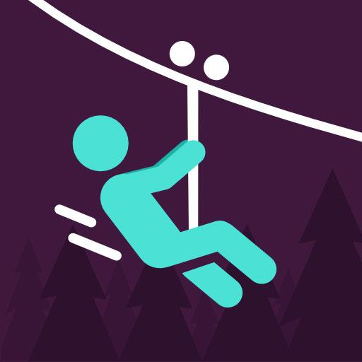 Zipline Valley – Physics Puzzle Game
