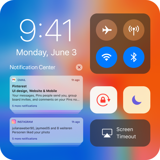 iCenter iOS14 – Control Center & iNoty iOS14