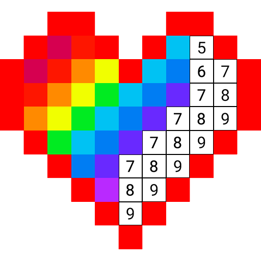 Color Numbers – Draw Pixel Art
