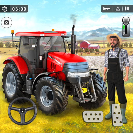 Farming Game 2021 – Free Tractor Driving Games