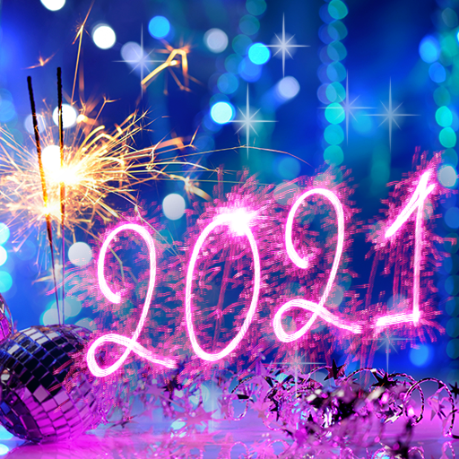 Happy New Year Wallpaper 2021 – Holiday Background